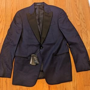 Emporio Armani Neat Dinner Jacket Dark Blue/Black